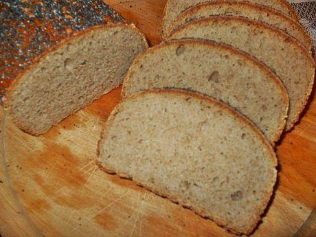 Przepis  pszenny chleb z makiem na zakwasie przepis