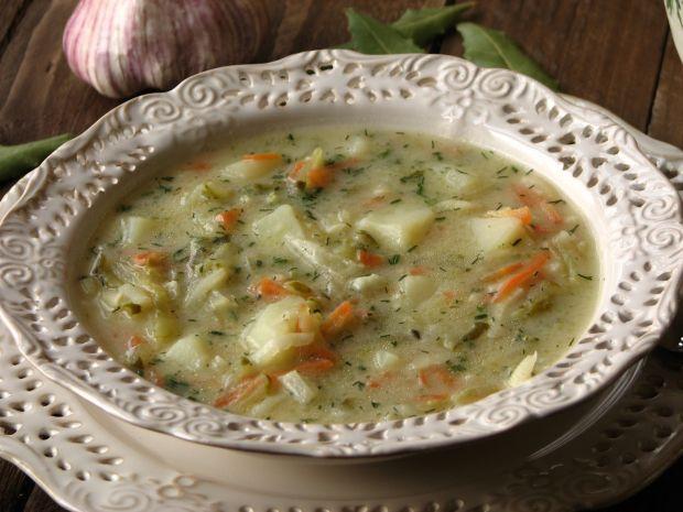 Przepis  domowa zupa ogórkowa przepis