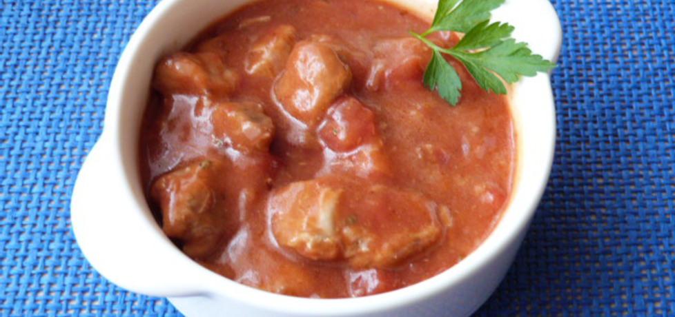 Gulasz wieprzowy w sosie pomidorowym (autor: ikrakowianka ...