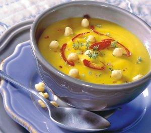 Krem z dyni z curry i imbirem  prosty przepis i składniki