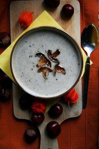 Zupa grzybowa z pieczarkami