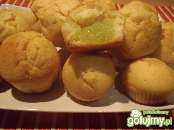Przepis  muffinki cytrynowe z kisielem przepis