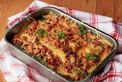 Lasagne z mięsem / lazania