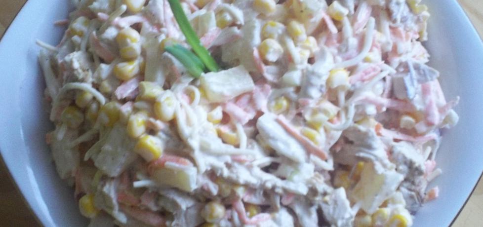 Sałatka z indyka z ananasem (autor: edith85)