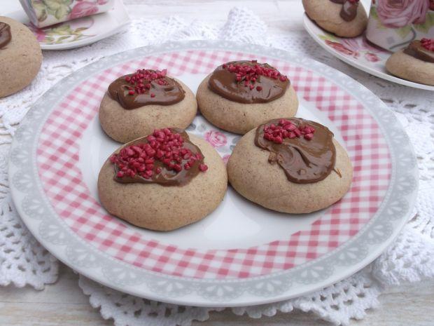 Przepis  cynamonowe ciasteczka z czekoladą przepis