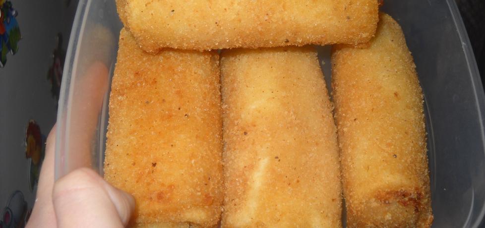 Krokiety z serem i grzybami (autor: justyna