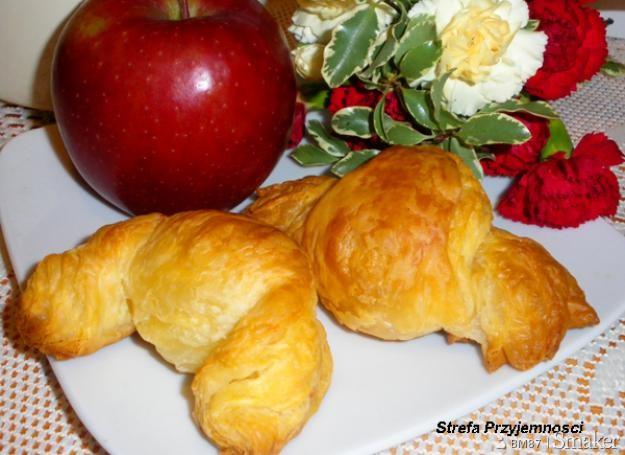 Croissanty z (polskimi) jabłkami
