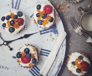 Kruche ciasto na babeczki lub spód do mazurka