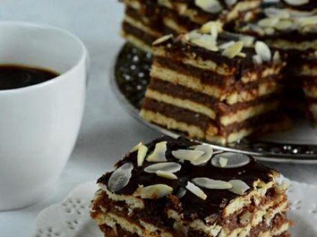 Przepis  ciasto z kaszą bez pieczenia przepis