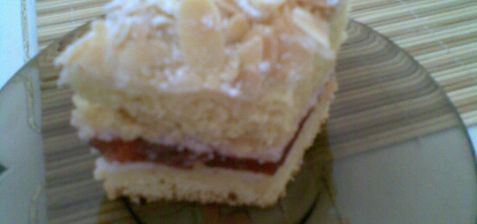 Ciasto z płatkami migdałowymi