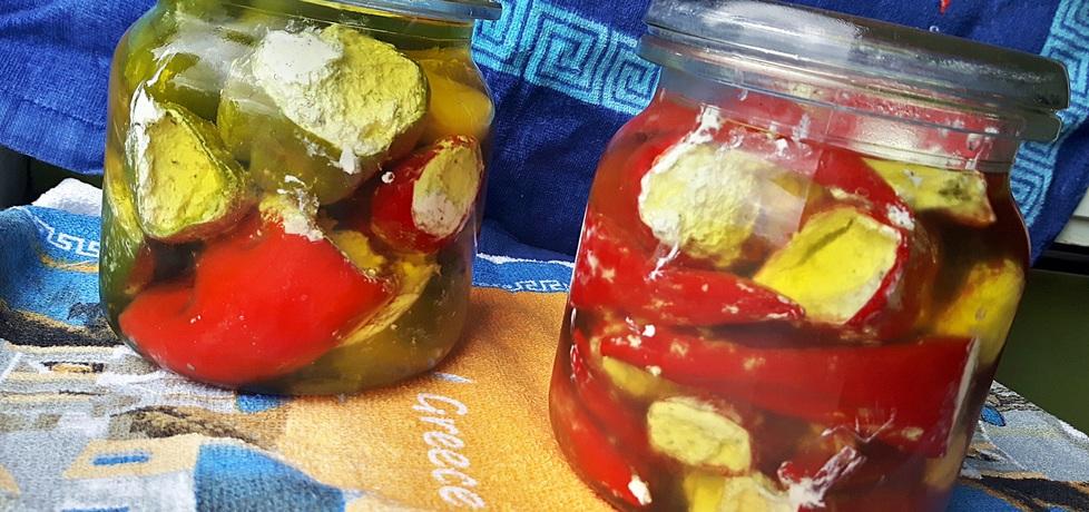 Papryczki faszerowane serem feta czyli antipasti (autor: joanna