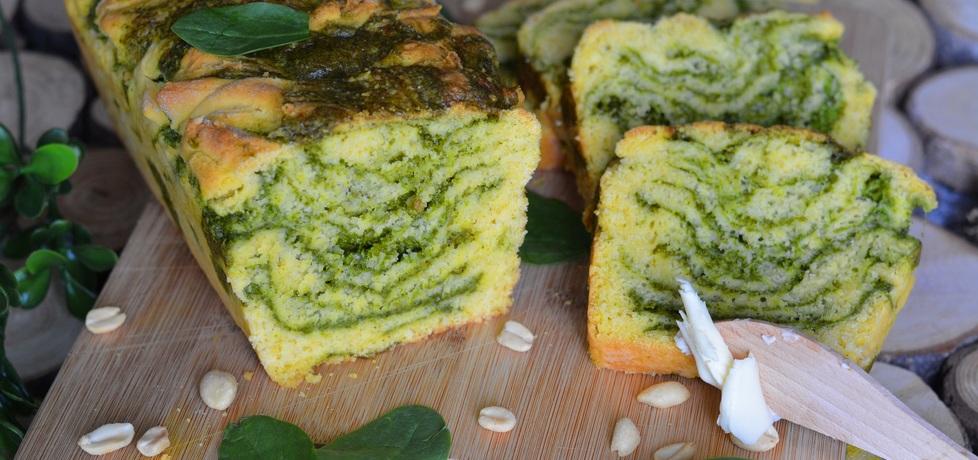 Chlebek nadziewany szpinakowym pesto (autor: linka2107 ...