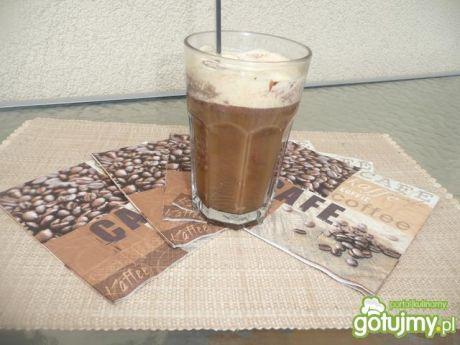 Przepis  kawa mrożona z lodem na patyku przepis