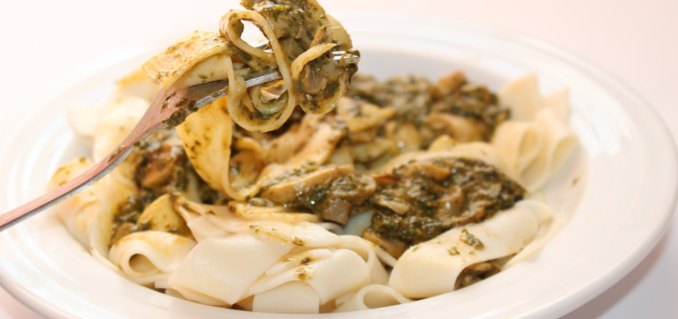 Pappardelle ze szpinakiem i kozim serem (autor: smakolykijoanny ...