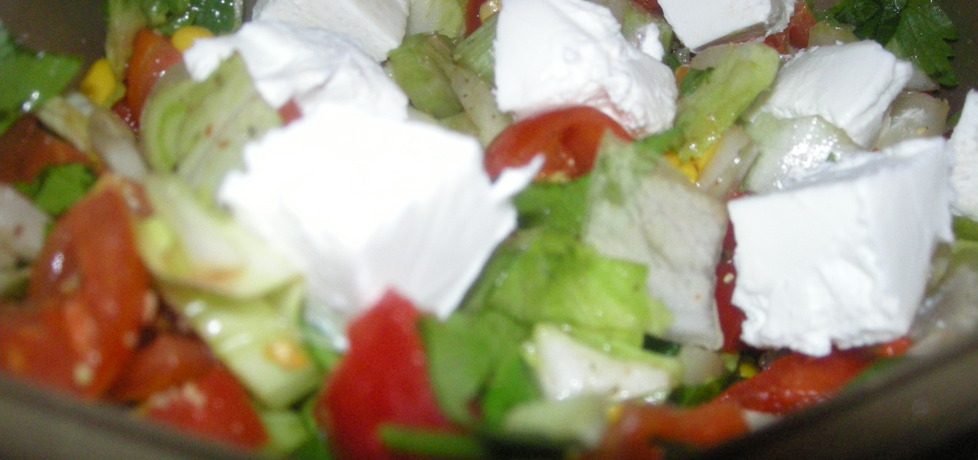 Sałatka z cykorią i serem feta (autor: kate131)
