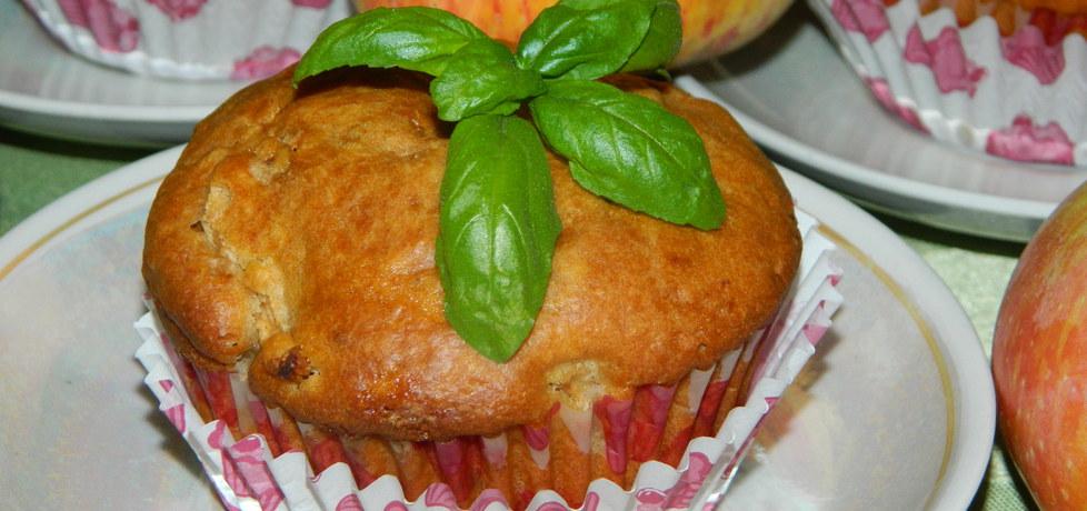 Muffinki z jabłkami, cynamonem i rodzynkami (autor: bietka ...