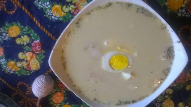 Przepis  zupa chrzanowa na żeberkach przepis