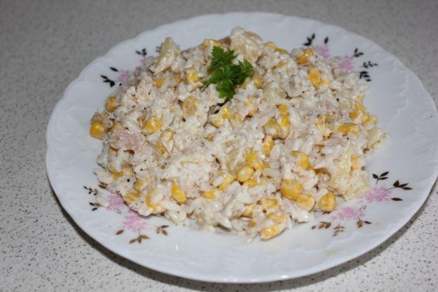 Sałatka ryżowa z majonezem przepis