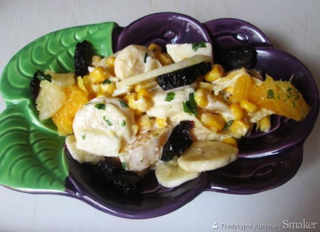 Ekspresowa sałatka owocowo- warzywna