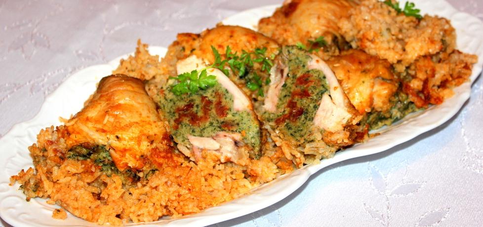 Faszerowane szpinakiem pałki z kurczaka (autor: iskierka.ag ...
