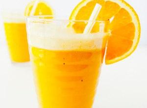 Smoothie pomarańczowo-bananowy  przepis blogera