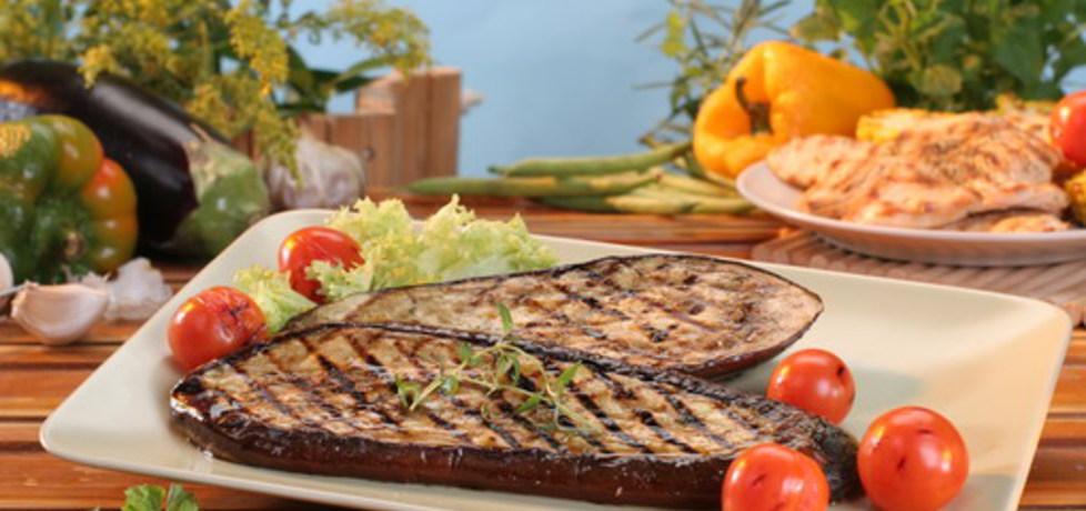 Grill: bakłażany z pikantnym sosem (autor: doradca