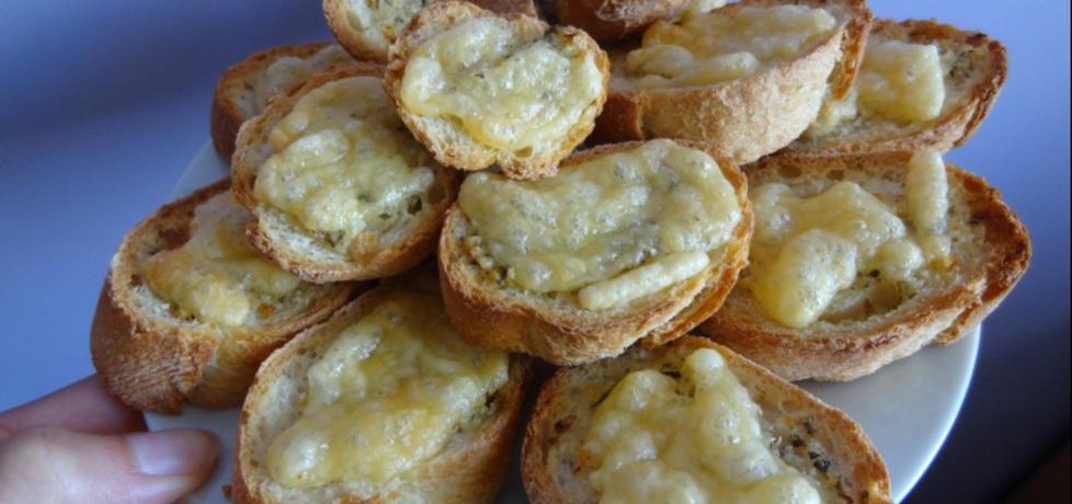 Grzanki czosnkowe z serem (autor: irenam)