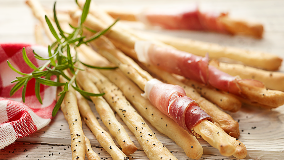 Przepis na grissini – chlebowe paluszki czosnkowe