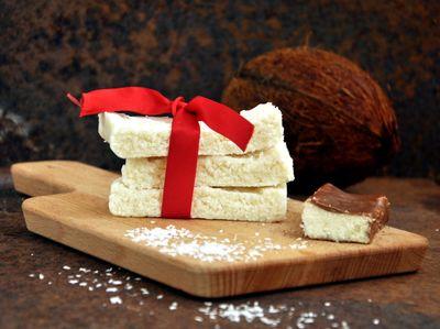 Batoniki kokosowe z trzech składników