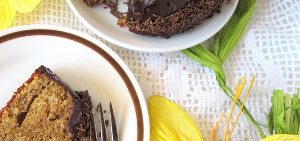 Babka cappuccino z czekoladową polewą (autor: cris04 ...