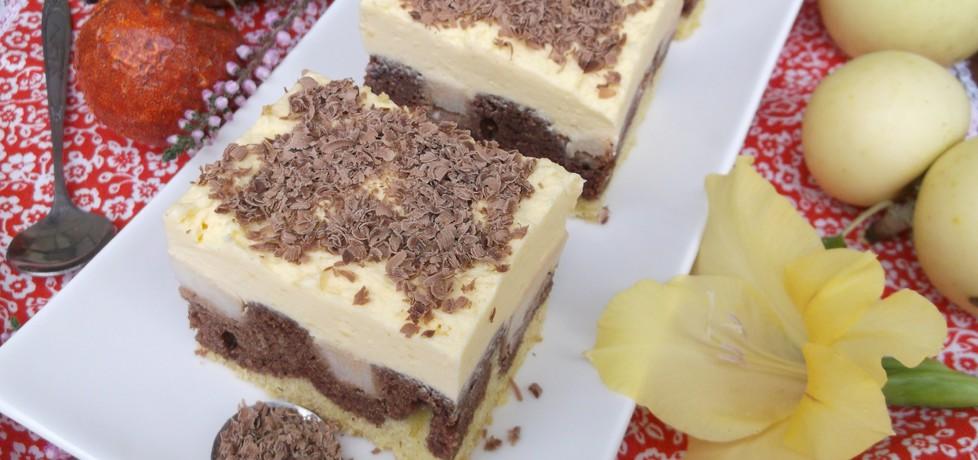 Ciasto ,, fale dunaju '' z jabłkami. (autor: babeczka35 ...