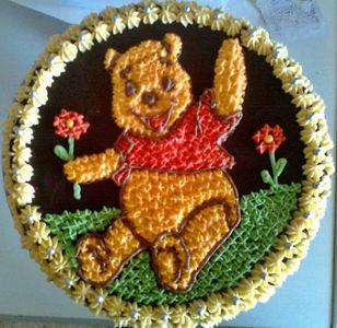 Tort kubuś puchatek