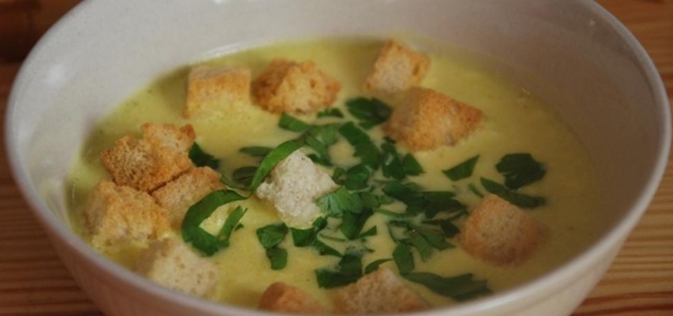Zupa serowa z grzankami (autor: jolanta40)