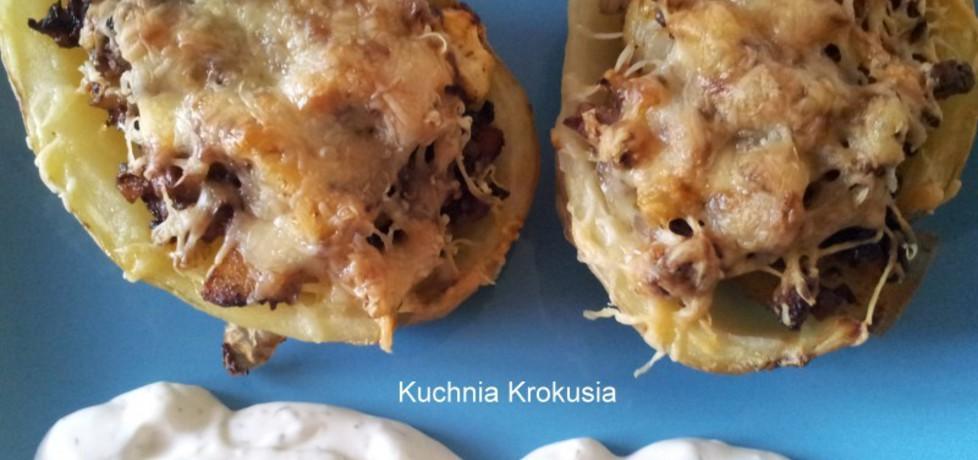 Ziemniaki faszerowane boczkiem i pieczarkami (autor: krokus ...