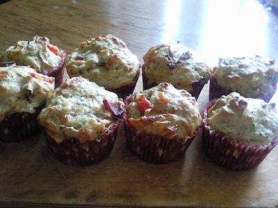 Muffiny pizzowe