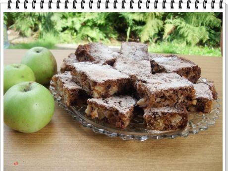 Przepis  ciasto eli z jabłkami i orzechami przepis