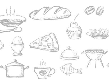 Przepis  omlet z pieczarkami i kiełbasą przepis