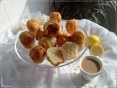 Cytrynowe muffinki z białą czekoladą