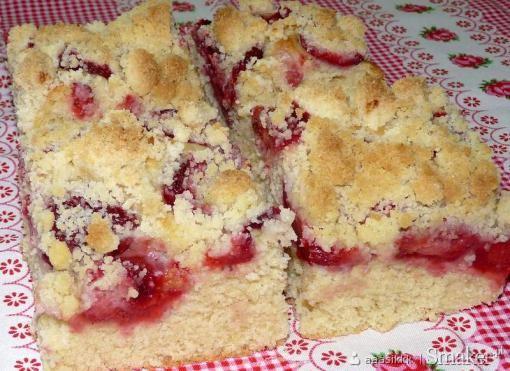 Drożdżowe z Truskawkami Przepis Ciasto Drożdżowe z Truskawkami