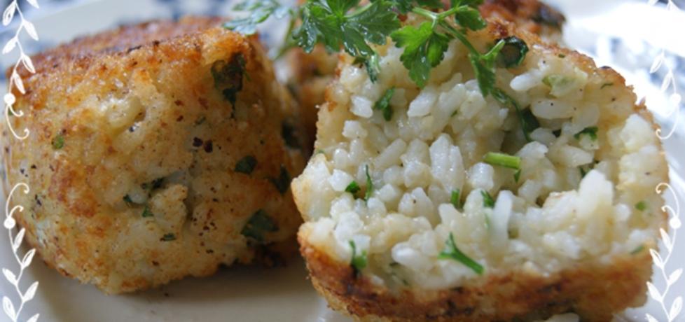 Kotleciki z ryżu i natki pietruszki (autor: kulinarna