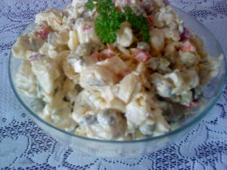 Przepis  sałatka z tortellini z grzybami przepis