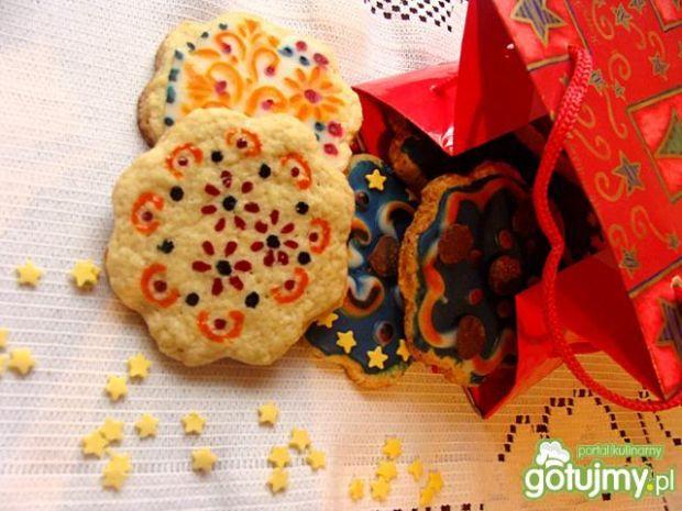 Przepis  cytrynowo-migdałowe ciasteczka przepis