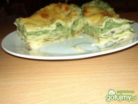 Przepis  lasagne ze szpinakiem wg alex przepis