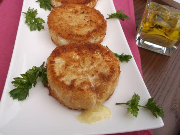 Przepis  panierowany i smażony ser camembert przepis