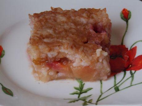 Przepis  ryż z jabłkami i śliwkami przepis