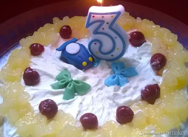 Mega szybki tort dla 3 latka :)