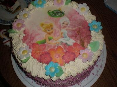 Torcik urodzinowy córci