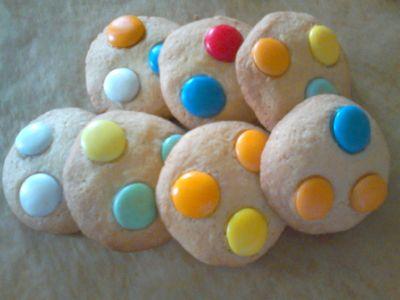 Ciasteczka z lentilkami