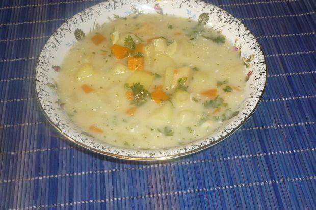 Przepis  zabielana zupa z fasolką szparagową przepis
