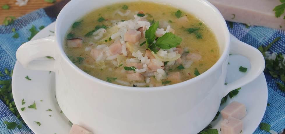 Zupa z szynki (autor: jadwigajaga85)